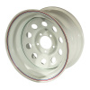 Диск стальной OFF-ROAD Wheels для УАЗ (белый) 5x139,7 10xR15 d110 ET-44