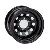 Диск стальной OFF-ROAD Wheels для Тойота, Ниссан, Митсубиши (черный) 6x139,7 7xR15 d110 ET-15