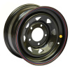 Диск стальной OFF-ROAD Wheels для УАЗ (черный) 5x139,7 7xR15 d110 ET+25 (треуг. мелкий)
