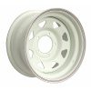 Диск стальной OFF-ROAD Wheels для УАЗ (белый) 5x139,7 8xR15 d110 ET-25 (треуг. мелкий)