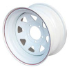 Диск стальной OFF-ROAD Wheels для УАЗ (белый) 5x139,7 10xR15 d110 ET-44 (треуг.)