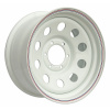 Диск стальной OFF-ROAD Wheels для Тойота, Ниссан, Митсубиши (белый) 6x139,7 8xR16 d110 ET+30