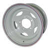 Диск стальной OFF-ROAD Wheels для УАЗ (белый) 5x139,7 8xR15 d110 ET-19 (треуг.)