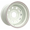 Диск стальной OFF-ROAD Wheels для Тойота, Ниссан, Митсубиши (белый) 6x139,7 10xR16 d110 ET-44